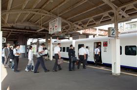 肥前山口駅ホームの写真